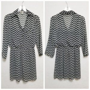 Accidentally In Love Striped Dress Size Small